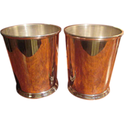 SOLD Pr. Sterling Julep Cups (2 Pr. Available)