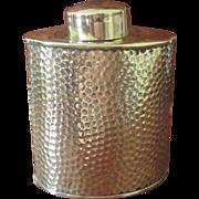 SALE Joseph Sankey & Sons Brass Tea Caddy  C:1900
