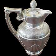 SALE English Victorian Claret/Hot Water Jug