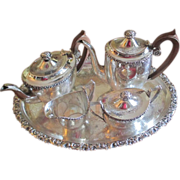 Ellis Barker Tea/Coffee Set With Tray