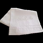 Set 6 Italian Linen Bath Towels C:1950