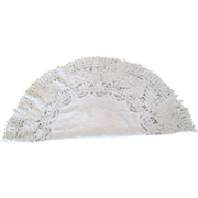 """Battenberg,""""The Royal Lace"""", 50"""" Round Cloth"""