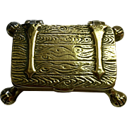 English Brass Snuff Box