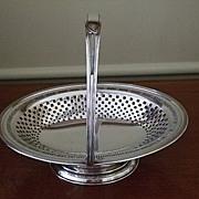 English  Oval Cake/Bride's Basket C:1890