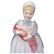 "Royal Doulton ""The Rag Doll"" HN2142 Porcelain Figurine"
