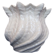 Irish Belleek Shell Vase