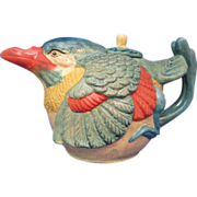 SOLD Teapot Made in China Ceramic Stoneware Bird Tea Pot