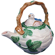 SOLD The Haldon Group 1986 Blue Bird Pattern Teapot