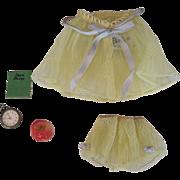 """Vintage Barbie #973 """"Sweet Dreams"""" Yellow (1958-1963)"""