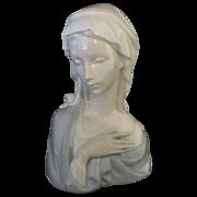 "SOLD Lladro Porcelain ""Madonna Head"" #4649 Retired"