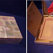 Early Mother of Pearl Compact and/or Evening Purse