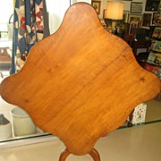 Rare Large Size Tiger Tilt Top Table