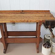 Small Wood Workbench