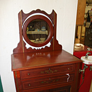 Rare & Unusual Barber's Cabinet