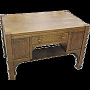 Mission, Arts & Crafts Oak Desk