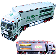Hess Toy Truck with Working Lights Advertising Collectible