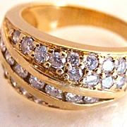 Estate 1/2 Carat Diamond Ring Size 6