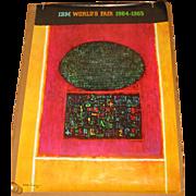 New York World's Fair IBM Pavilion Poster 1964 1965 signed