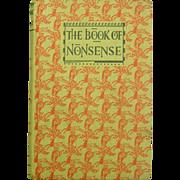 The Book of Nonsense, Illustrated, E.P. Dutton, 1956