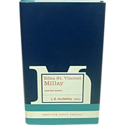 Selected Poems of Edna St. Vincent Millay, American Poets Project