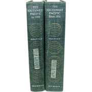 The Southwest Pacific, A Modern History, 2 Vols., 1963, Maps