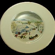 Atlas China, Grandma Moses Limited Edition Plate
