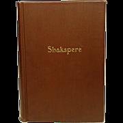 The Works of William Shakepere, Doran, 1927, illustrated