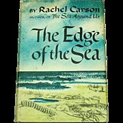 Rachel Carson, The Edge of the Sea, 1955, First Edition