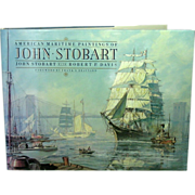 SOLD American Maritime Paintings of John Stobart, First Edition, Large Format - Red Tag Sale I