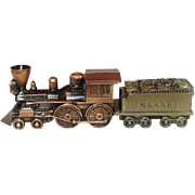 Vintage Coin Banks, Banthrico, Inc., Locomotive and Fuel Car