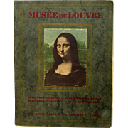 SOLD Musee Du Louvre, Celebrated Paintings, 24 Full-color Plates, 1927