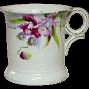 Noritake China, Shaving Mug, Handpainted Florals, Made in Japan