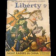 Liberty Magazine ~ July 3, 1937 ~ Short Stories,Quaint Ads, Great Illustration