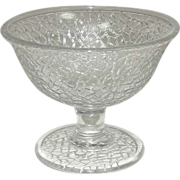 SOLD Crackle Pattern ~ Sherbets ~ Crystal ~ Various Makers, Circa 1924