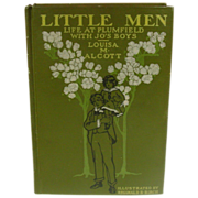 Louisa May Alcott, Little Men, 1923, Decorative Cover
