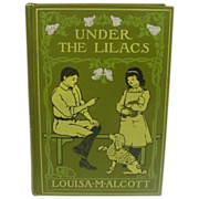 Louisa May Alcott, Under the Lilacs, 1924, Decorative Cover