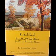 Kentucky Knob, Frank Lloyd Wright's House, Hagan, Signed