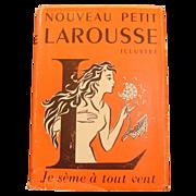 Nouveau Petit Larousse, Illustre, 1955, in French, Illustrated