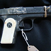 REDUCED Vintage Kilgore Mountie Metal Toy Cap Gun