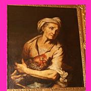 REDUCED Superb 17thC Dutch Master Gerrit van Honthorst 1592-1656 . Museum Quality!