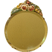 Vintage Barbola Mirror English Art Deco 1920's PRETTY