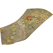 18th Century Silk Dress Sleeve Georgian Circa 1760