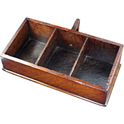 English Victorian Oak Church Offertory Box Circa 1840