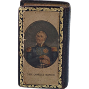 SALE Baxter Needle Box Needle Case With Needles Admiral Sir Charles Napier 1855