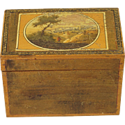 Georgian Miniature Sewing Box Grand Tour Circa 1815