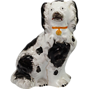 SALE Victorian Miniature Porcelain Dog Circa 1845