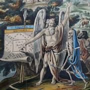 19th Century Astrology Engraving PAIR Raphael's Prophetic Almanac 1846 and 1848