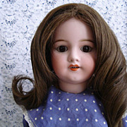 Simon Halbig 550 German Bisque Doll - Stamped Body