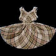 Sweet Plaid Doll Dress