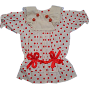 Polka Dot Drop Waist Doll Dress